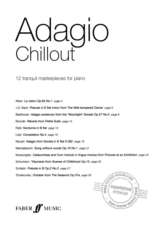 Adagio Chillout Pf Book/Cd (1)