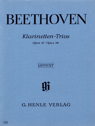 Ludwig van Beethoven: Clarinet Trios B flat major op. 11 and E flat major op. 38