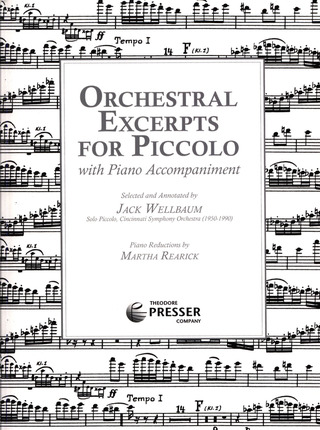 Orchestral Excerpts for Piccolo