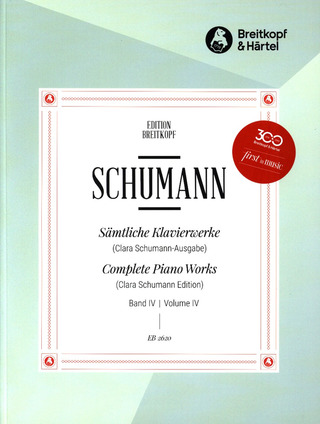 Robert Schumann: Complete Piano Works 4