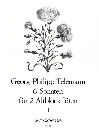 Georg Philipp Telemann: 6 Sonaten Band 1 (Nr.1-3)