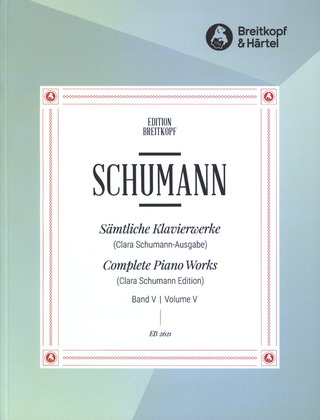 Robert Schumann: Complete Piano Works 5