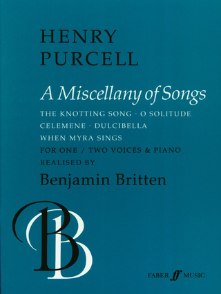 Henry Purcell: A Miscellany of Songs