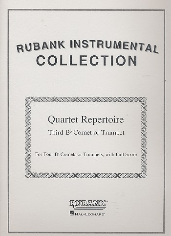 Quartet Repertoire For Cornet