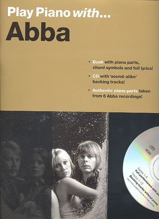 ABBA: Play Piano With Abba Bk/Cd