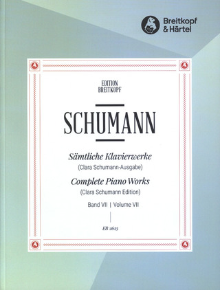 Robert Schumann: Complete Piano Works 7