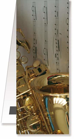 Bookmarks magnetic - Saxophone/Sheetmusic