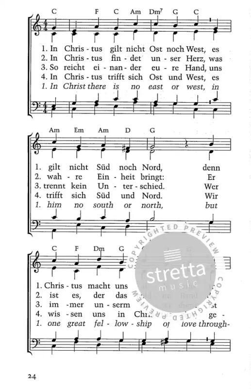 Lieder Gottesdienst