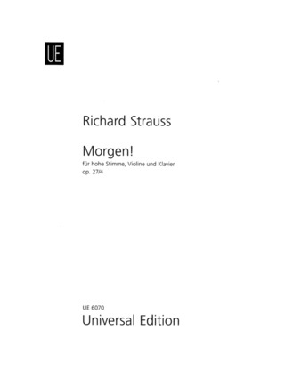 Richard Strauss: Morgen! G-Dur op. 27/4