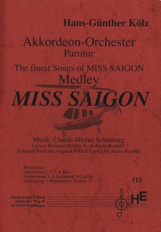 Claude-Michel Schönberg: Miss Saigon