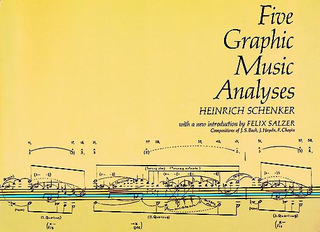 Heinrich Schenker: Five Graphic Music Analyses