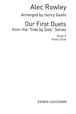 Alec Rowley: Side By Side – Our First Duet Book 5
