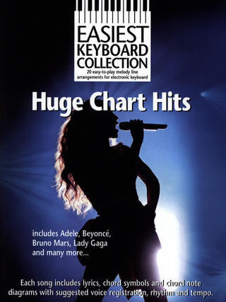 Easiest Keyboard Collection: Huge Chart Hits
