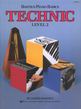 James Bastien: Bastien Piano Basics – Technic 2