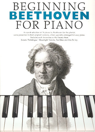 Ludwig van Beethoven: Beginning Beethoven For Piano Pf Book