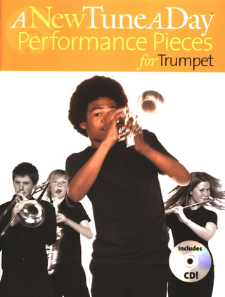 A New Tune A Day Performance Pieces For Trumpet Tpt Book / Cd