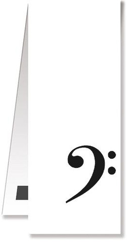 Bookmark Treble Clef