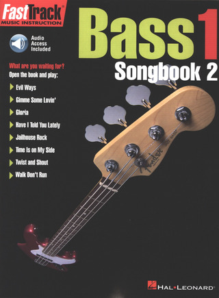 FastTrack Bass 1 – Songbook 2