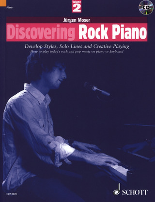 Jürgen Moser: Discovering Rock Piano 2