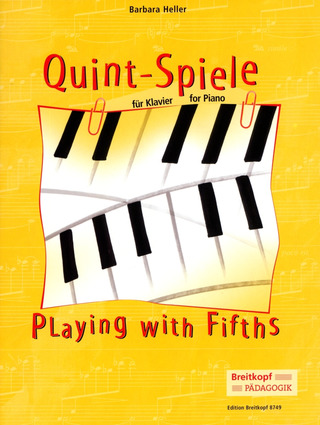Barbara Heller: Quint-Spiele (Playing with fifths)