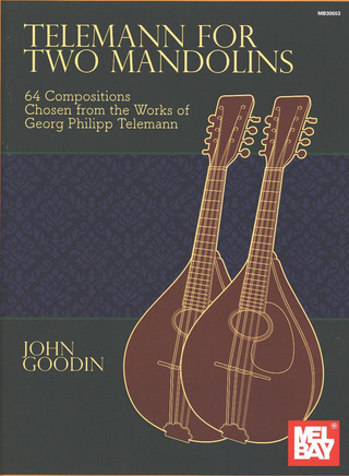 Georg Philipp Telemann: Telemann for Two Mandolins