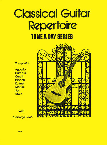 Urwin S. G.: Tune A Day Classical Guitar Repertoire Vol. 1