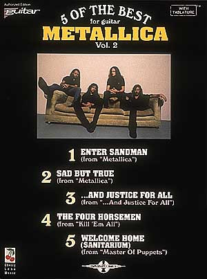 Metallica: 5 Of The Best 2