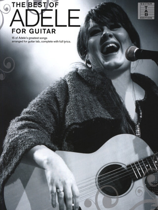 Adele Adkins: Adele: The Best Of (Guitar Tab)