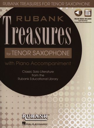 Rubank Treasures for Tenor Saxophone