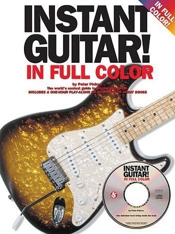 Pickow Peter: Instant Guitar! In Full Colour Bk/Cd