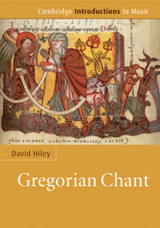 David Hiley: Gregorian Chant