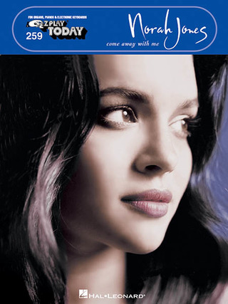Norah Jones: E-Z Play Today 259: Norah Jones - Come Away With Me