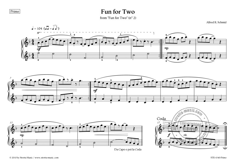 Alfred R. Schmid: Fun for Two (2)