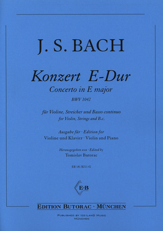 Johann Sebastian Bach: Concerto in E major BWV 1042