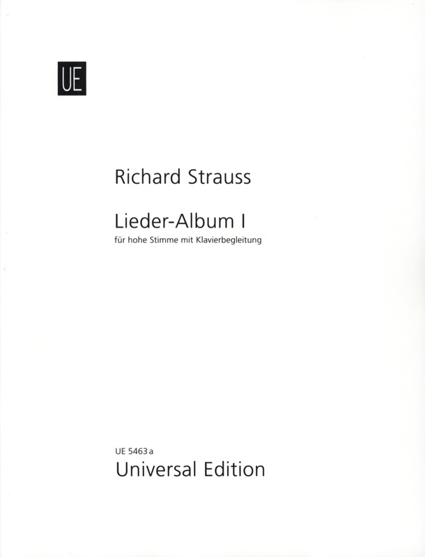 Richard Strauss: Lieder-Album I – High voice