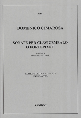 Domenico Cimarosa: Sonate Vol 2 (45-88)