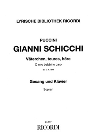 Giacomo Puccini: Väterchen, teures, höre As-Dur