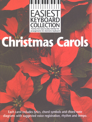 Easiest Keyboard Collection Christmas Carols MLC