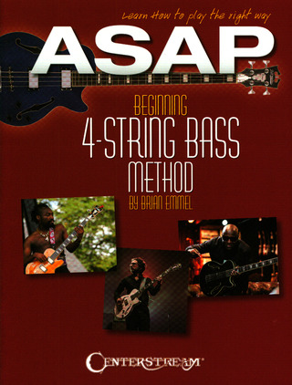 Brian Emmel: ASAP Beginning 4-String Bass Method