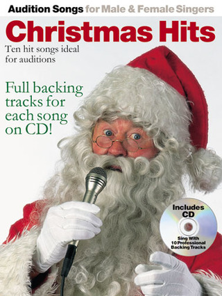 Audition Songs Xmas Hits Pvg Male/Female Voices Book/Cd