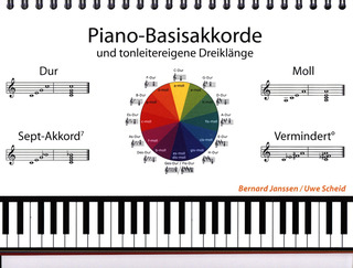 Bernard Janssen et al.: Piano basic chords