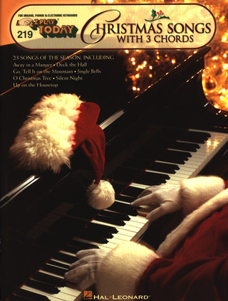 E-Z Play Today 219: Christmas Songs With 3 Chords