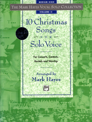 10 Christmas Songs for Solo Voice 2
