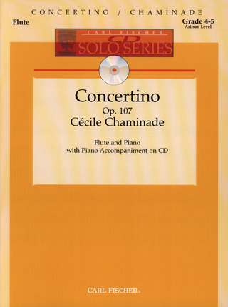 Cécile Chaminade: Concertino D-Dur Op 107