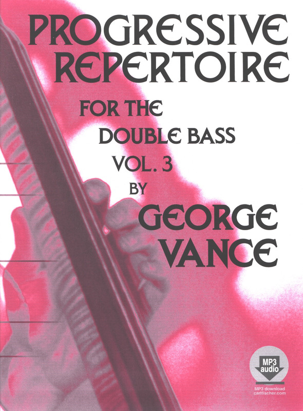 George Vance: Progressive Repertoire For The Double Bass - Book 3 (Book/CD)