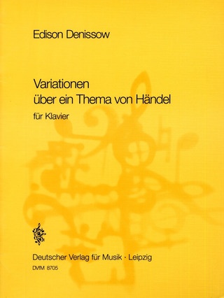 Edisson Denissow: Händel-Variationen