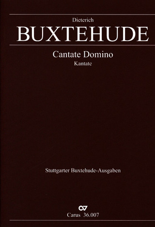 Dieterich Buxtehude: Cantate Domino BuxWV 12