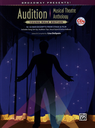 Audition Musical Theatre Anthology - Young Male Edition