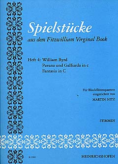 William Byrd: Spielstücke aus dem Fitzwilliam Virginal Book
