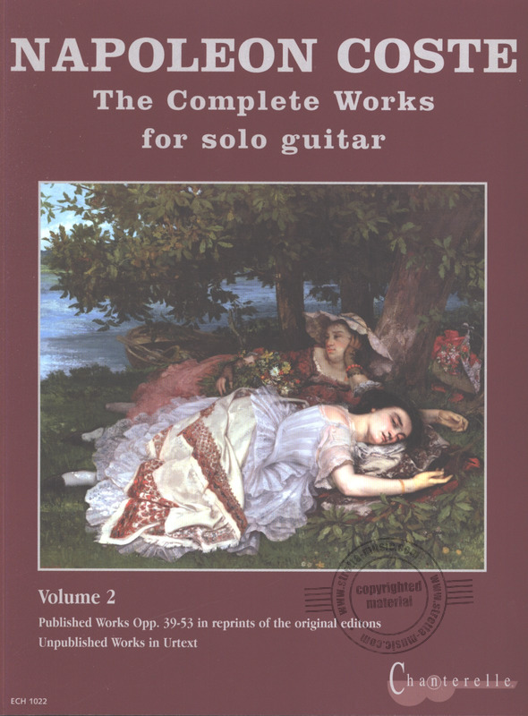 Napoléon Coste: Complete Solo Guitar Works (3)